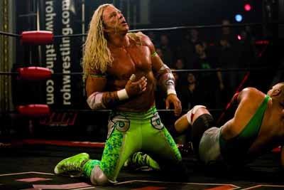 DODGE RAM: Aging fighter Randy 'The Ram' Robinson (Mickey Rourke) can still floor them in The Wrestler.
