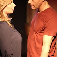 Don (Bill Reilly) and Catherine (Caroline Renfro) in Rapture, Blister, Burn