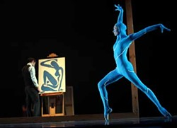 JEFF HAHNE - DON'T BE BLUE: 'The Blue Nude' in Matisse, one of the performances in Innovative Works