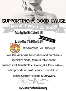 THE AMARYLLIS FOUNDATION, INC. - Donuts for a Good Cause Flyer