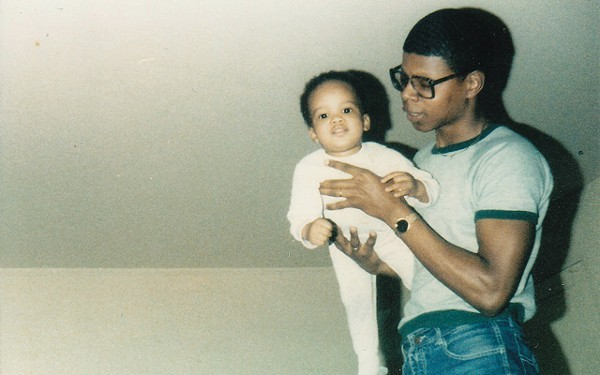 Douglas and his dad