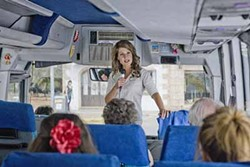 FOX SEARCHLIGHT - DRAG US TO HELL: Nia Vardalos stars as a tour guide in the painful My Life in Ruins.