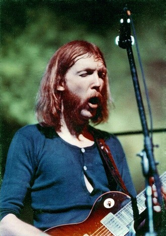 Duane Allman at the Fillmore East in NYC, 1971
