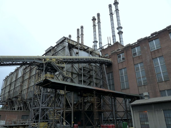 Duke Energys Riverbend Coal Plant, situated 12 miles from Uptown