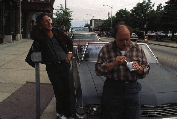 Dustin Hoffman and Dennis Franz in American Buffalo (Photo: Twilight Time)