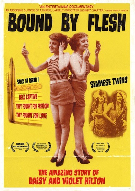 DVD cover for Bound By Flesh.