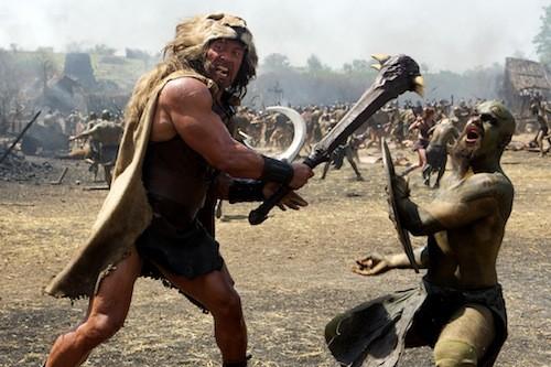 Dwayne Johnson in Hercules (Photo: Paramount)
