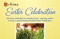 Chima celebrates Easter