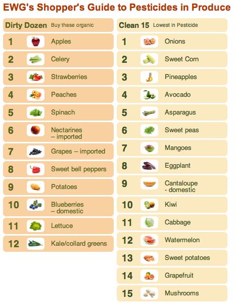 Food Babe Organic Budget