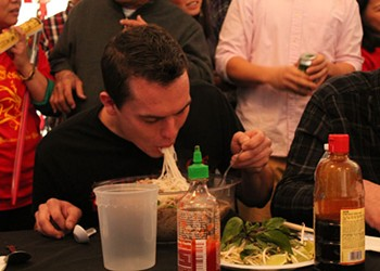 Eating contests highlight Vietnamese New Year celebration