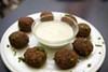 <p>EATS MEETS EAST: Falafels at Jerusalem Restaurant</p>