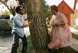 BRUCE MCBROOM / DREAMWORKS - ED, EDD 'N' EDDY Eddie Murphy plays three characters in Norbit, including the title nerd (left) and his wife Rasputia