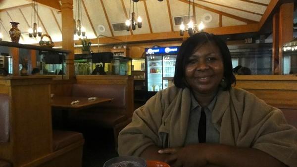 Edith Eekwem, purveyor of love and chin-chin