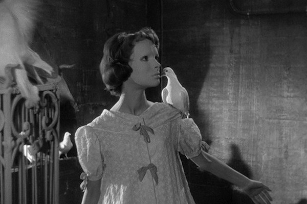 Edith Scob in Eyes without a Face (Photo: Criterion Collection)