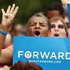 Election 2012 Notebook: An old-school celebration of four more years