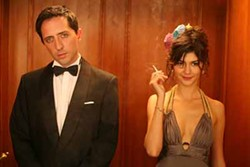 FIRST LOOK STUDIOS - ELEVATOR OPERATORS: Jean (Gad Elmaleh) and Irene (Audrey Tautou) enjoy the ride in Priceless.