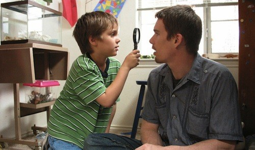 Ellar Coltrane and Ethan Hawke in Boyhood (Photo: IFC Films)