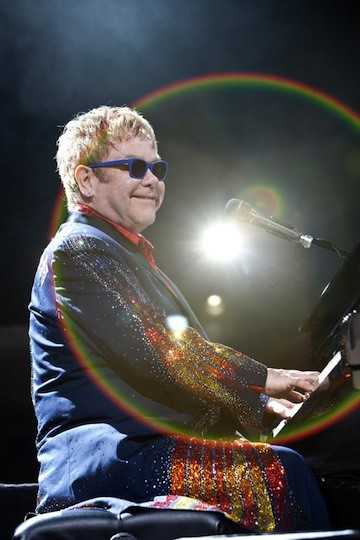 Elton John at PNC Music Pavilion on June 14.