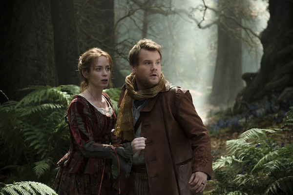 Emily Blunt and James Corden in Into the Woods (Photo: Disney)