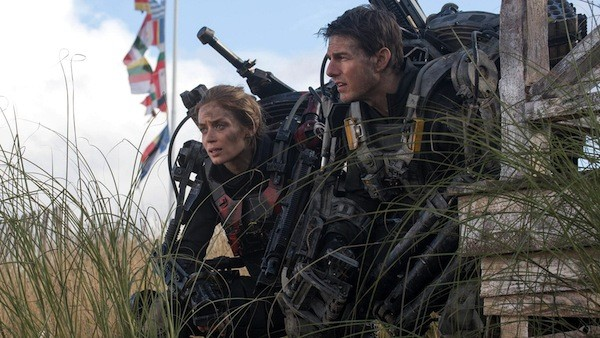 Emily Blunt and Tom Cruise in Edge of Tomorrow (Photo: Warner Bros.)