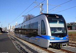 C. PATRIARCA - ENTICING?: The new light rail system could persuade people to leave their personal cars at home