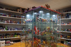 Eric Warren's collection of Transformers