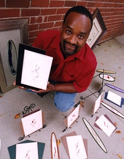 RADOK - Eric Wilson and his recycled picture frames