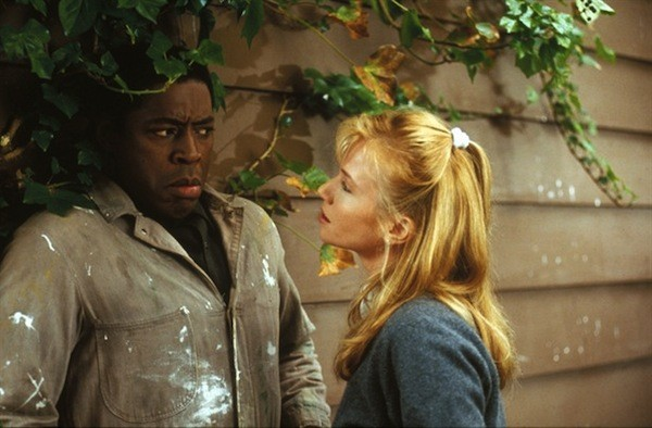 Ernie Hudson and Rebecca De Mornay in The Hand That Rocks the Cradle (Photo: Disney)