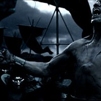 ET TU, BRUTE? The Spartans face a fearsome opponent (Robert Maillet) in 300.