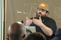 Design geek Aaron Draplin offers budding entrepreneurs advice