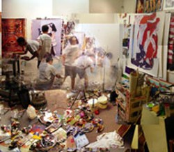 PAUL ROUSSO - EVERYWHERE AT ONCE It's all work and no stay for - Paul Rousso in his studio