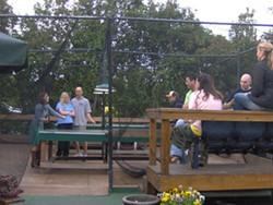 BRITTNEY CASON - Extreme ping-pong at Thomas Street Tavern