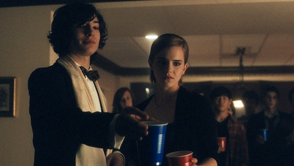 Ezra Miller and Emma Watson in The Perks of Being a Wallflower (Photo: Summit)