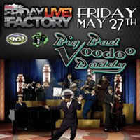 Make this Friday a funky one at the Factory