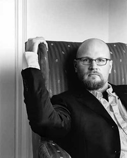 CRAIG CUTLER - FAMILY FEUD: Augusten Burroughs confronts his father's ghost in A Wolf at the Table.
