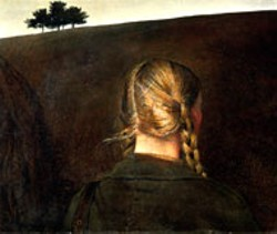 FARM ROAD by Andrew Wyeth, included in the - upcoming show at the Mint Museum of Art
