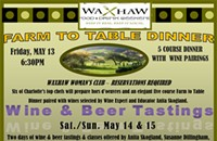MAY 13: Waxhaw's Farm to Table Dinner
