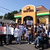 Fast-food workers protest calls for livable wages in N.C.