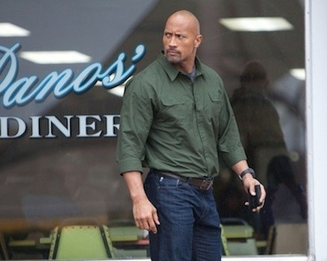 FATHER'S WAY: John Matthews (Dwayne Johnson) tries to salvage his son's future in Snitch. (Photo: Summit)