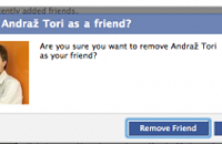 Friends with an 'ex' on Facebook? Why?