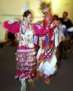 RADOK - Feathered Friends: dancers cavort at the Native - American Festival