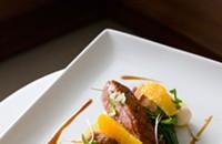 Featured Dish: Modern Duck a l'Orange at Lumiere