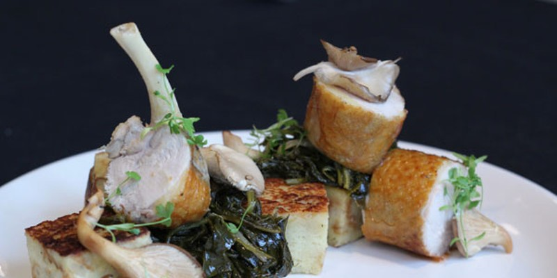 Featured Dish: Pan-Roasted Guinea Hen at The Asbury