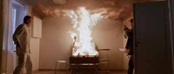 MAGNOLIA - FEELING THE HEAT: A vampire goes up in flames in Let the Right One In.