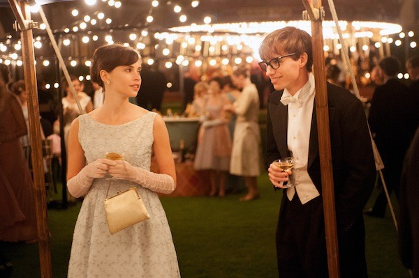 Felicity Jones and Eddie Redmayne in The Theory of Everything (Photo: Focus Features)
