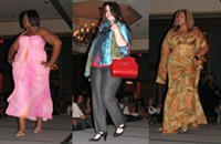 Review of Silhouettes of a Woman fashion show