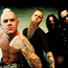 Five Finger Death Punch at the Uptown Amphitheatre tonight (8/21/2012)