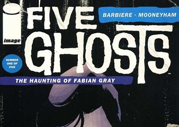 Five questions on <em>Five Ghosts</em>: A Q&A with Frank J. Barbiere
