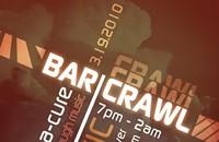 Bar crawl number what this week?