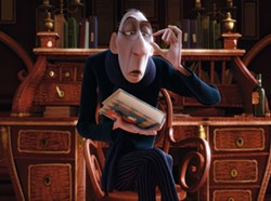 DISNEY & PIXAR - FOOD FOR THOUGHT: Food critic Anton Ego (voiced by Peter O'Toole) philosophizes about the art of cuisine in Ratatouille